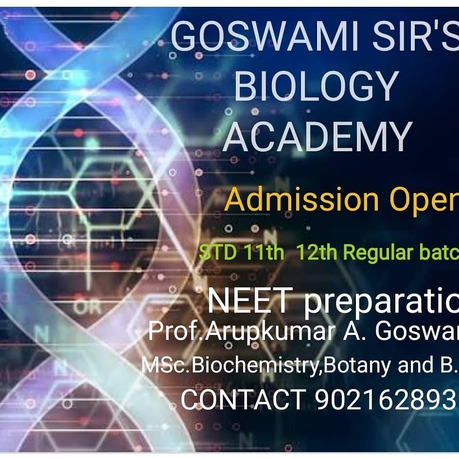 Goswami sir's Biology Academy / Biology Classes -SchoSys.com