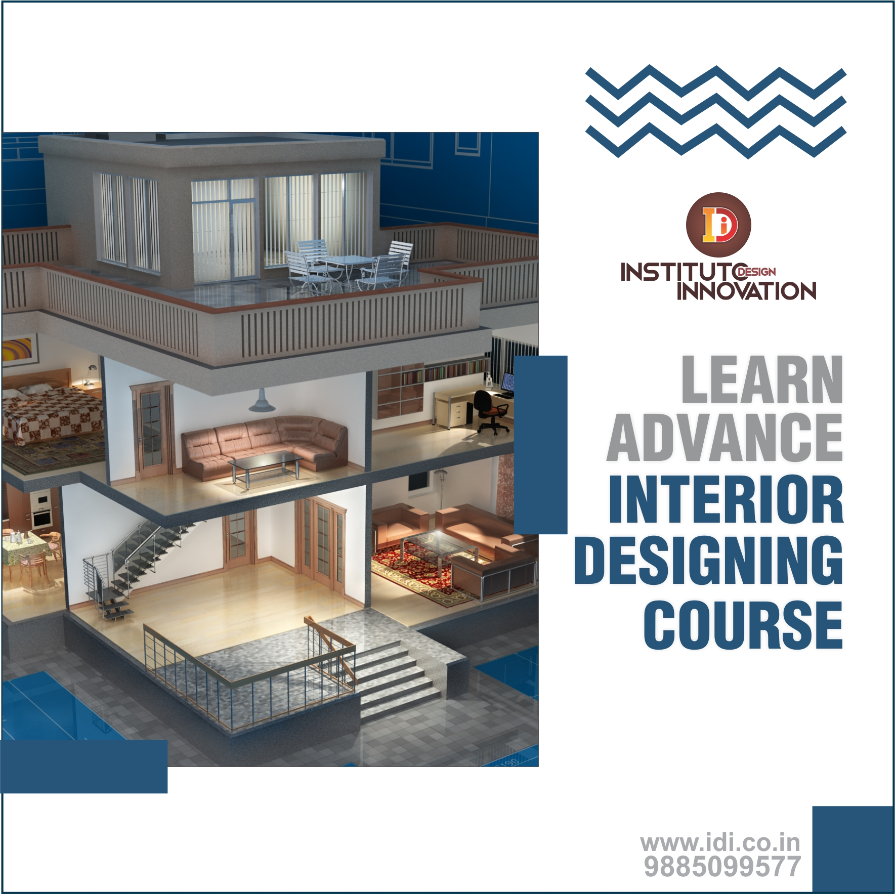 Instituto Design Innovation - Institute of Fashion Interior Design Himayat Nagar-SchoSys.com