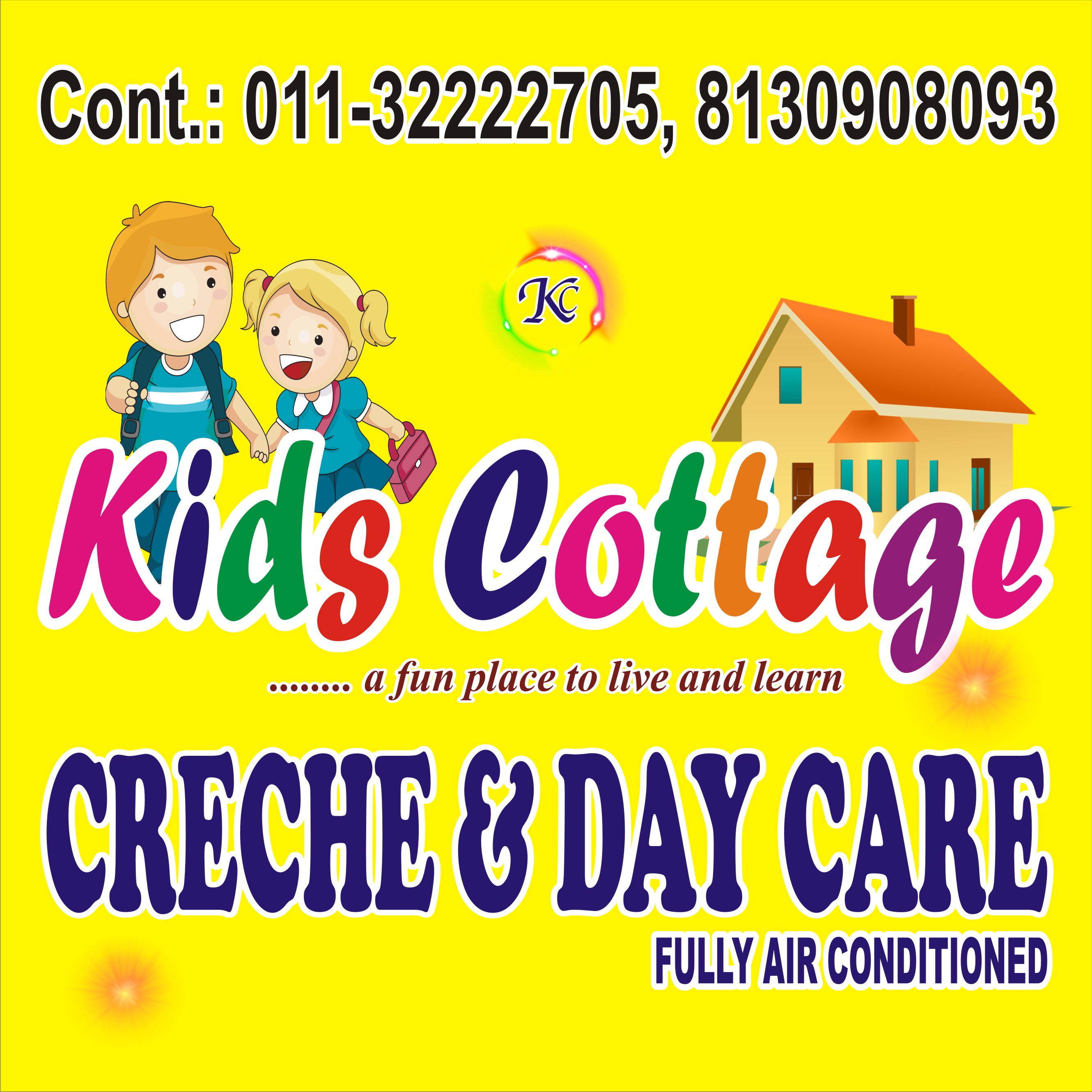 Kids Cottage Creche & Day care-SchoSys.com